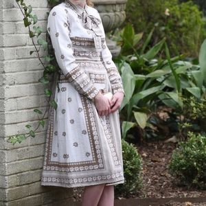 Dainty jewels dress Vintage French Parlor